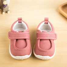 2016 Spring Korean tidal shoes canvas shoes boys and girls baby shoes children 1-3 years old(China (Mainland))