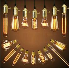 Buy 5PCS Retro Vintage Edison E27 LED Bulb,ST64 40W Led Filament Glass Light Lamp, Warm White Energy Saving Lamps Light AC220V for $15.86 in AliExpress store