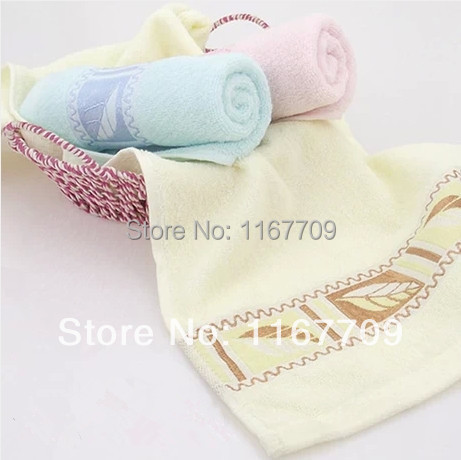 (5pcs/lot) 2014 new 33*75cm 100% Cotton Towel Set Hand Towel Brand New Beach Towels Bulk For Adults(China (Mainland))