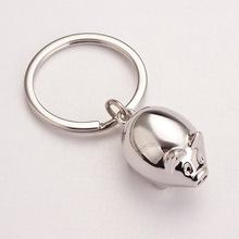 Buy Cute Keychain Pig Women Female Men Car Key Chain Pendant Keyring Cover Holder Purse Handbag Bag Charms Trinket Chaveiro Llaveros for $1.89 in AliExpress store
