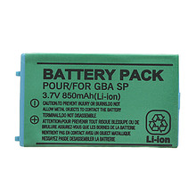 Hot Sale High Quality 3.6V 750mAh Rechargeable Replacement Battery With Screwdriver For NINTENDO For Gameboy Advance For GBA SP(China (Mainland))
