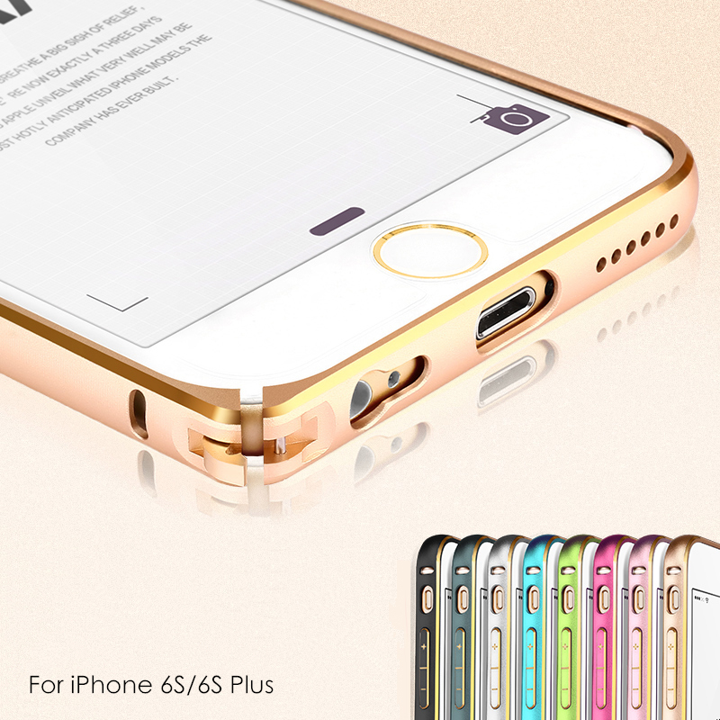 For iPhone 6 6s Bumper Aluminum Metal Frame Cell Phone Protective Case Covers For iPhone6 Plus 4.7'' 5.5 inch(China (Mainland))