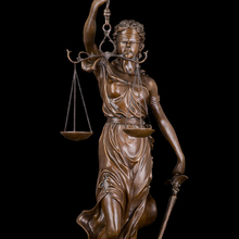 Estatua justica  Bronzes Sculpture Lady Scales of Justice Themis Lawyer woman figurine  Large Bronze Statue sculptures 76CM (China (Mainland))