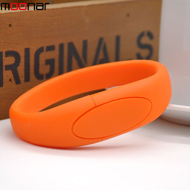 Hot Sale 4GB Silicone Bracelet Wrist Band USB2.0 Flash Memory Pen Drive USB flash Drive U Disk Pendrives X60*DA1366W1#M10(China (Mainland))