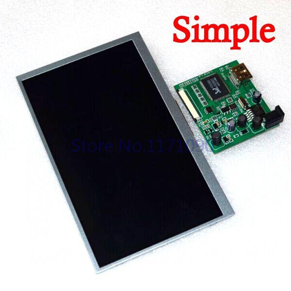 Free shipping! 7 inch Raspberry Pi IPS LCD Simple version With HDMI VGA AV Screen Display Module For Pcduino Banana Pi 800x480(China (Mainland))