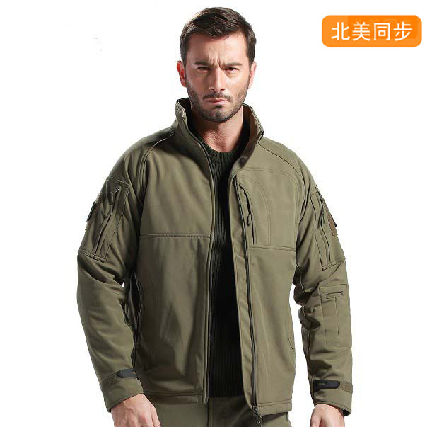 2015 New OMNI-HEAT Thermal Reflective Men's Heat Mode Fleece Jackets men's outdoors jacket for Climbing, hiking, travel 3 colors(China (Mainland))