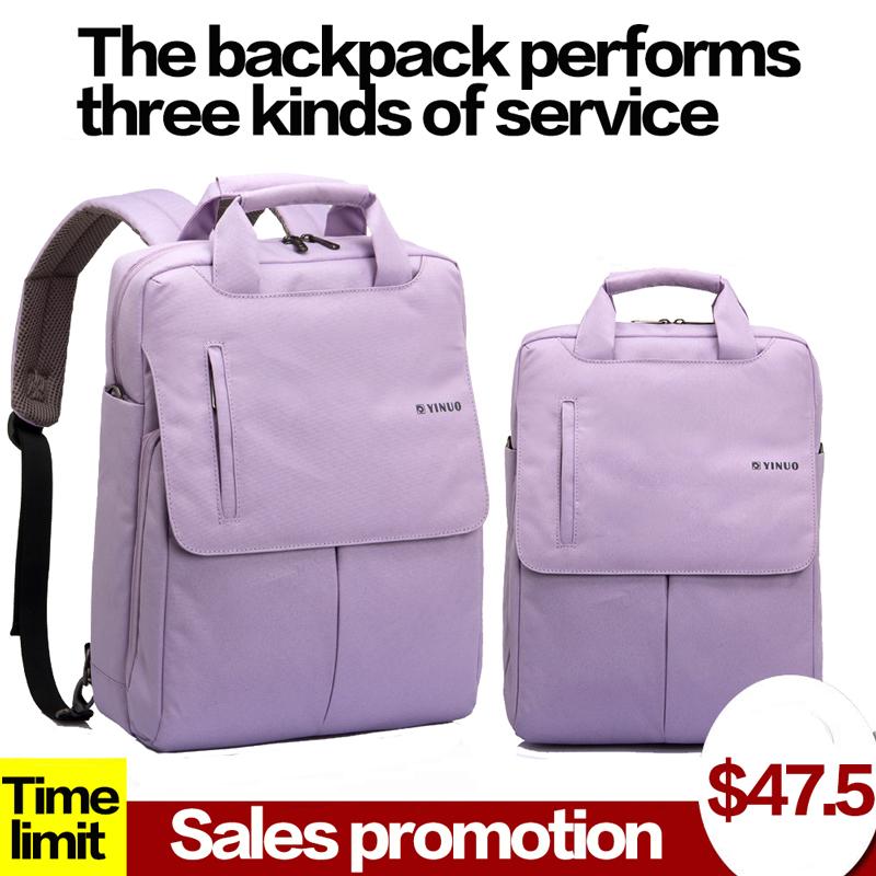 Single shoulder laptop bag 14 inch 15 inch 15.6-inch laptop shoulder bag men and women backpack(China (Mainland))