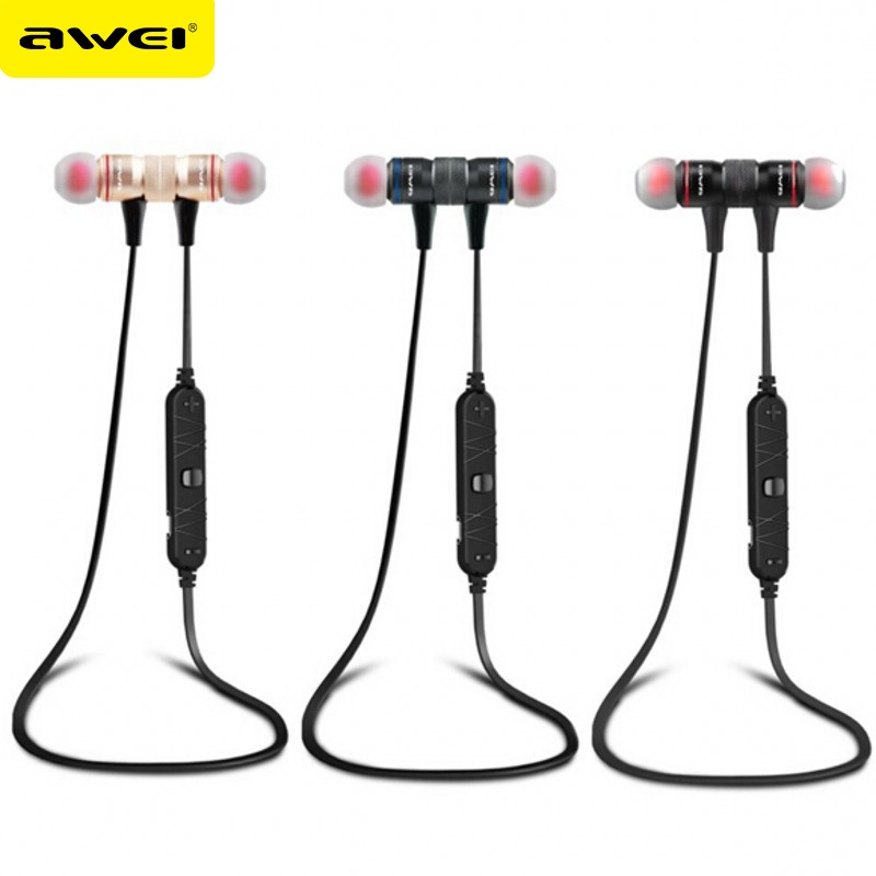 Awei A920BL Bluetooth stereo music headphones Wireless sports running earphone Handsfree headset fone de ouvido with Microphone(China (Mainland))