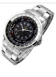 Men's wrist watch with top-grade stainless steel