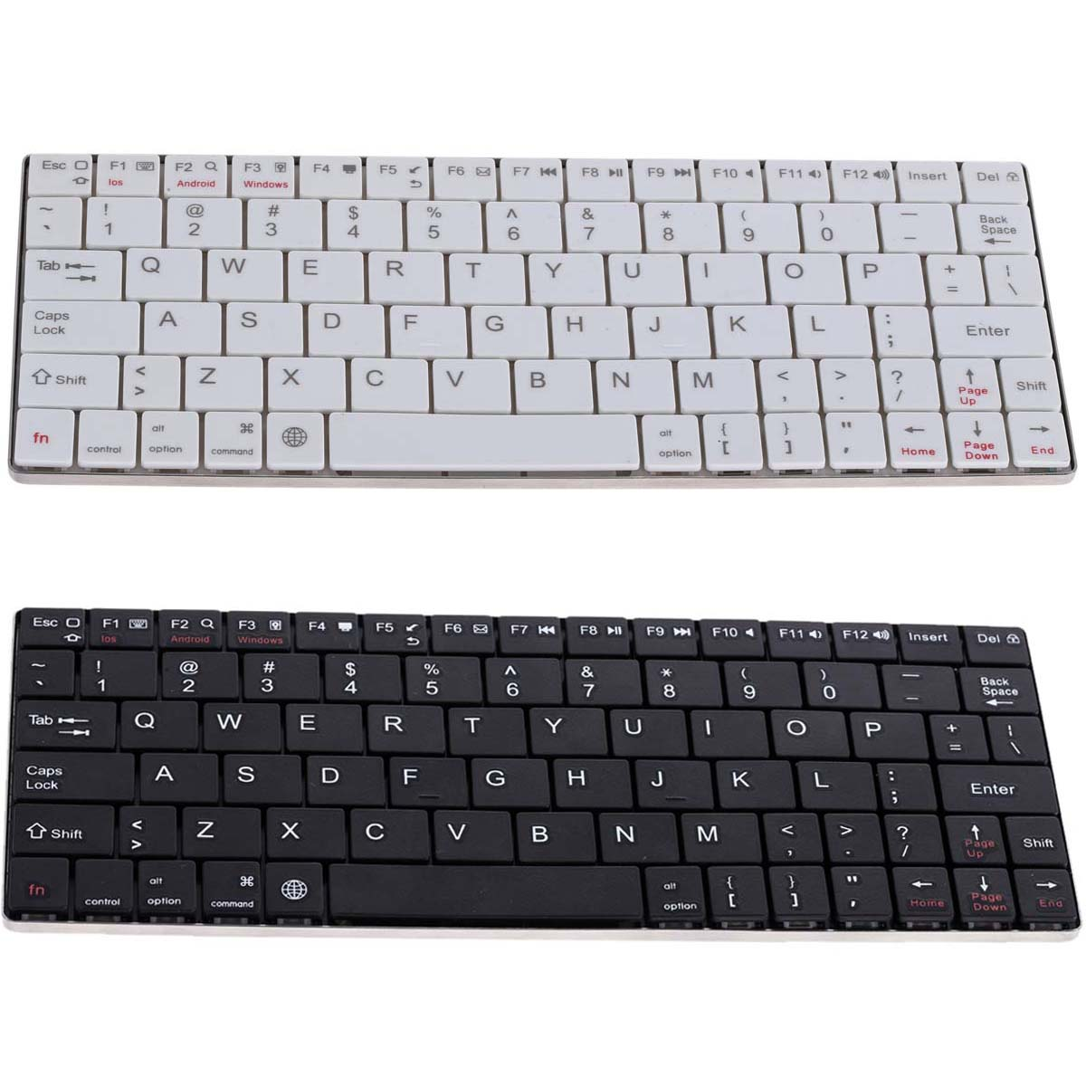 Mini Wireless Rechargeable Bluetooth Keyboard for IOS/Android/Windows tablet computer standard English version keyboard(China (Mainland))