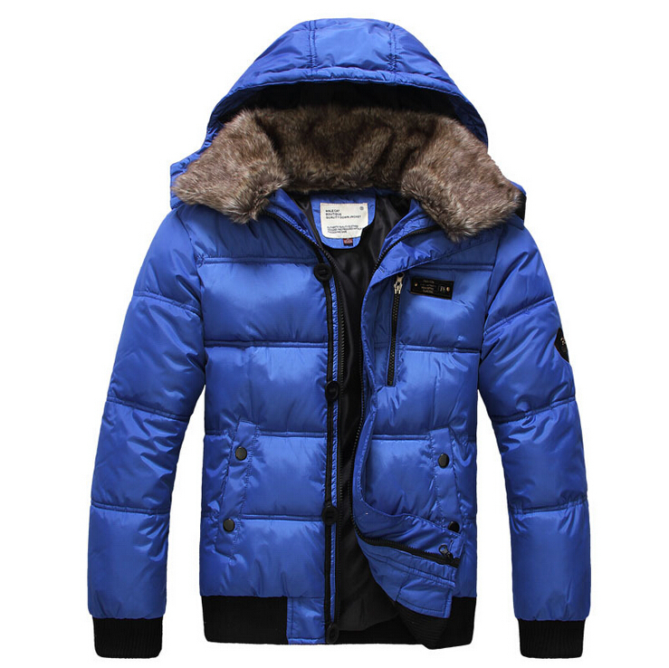 New 2014 Hotsale Men Winter Coat Jacket Down Coat Parka Mens Outdoor Wear High Quality Plus Size M-XXXL Free Shipping(China (Mainland))