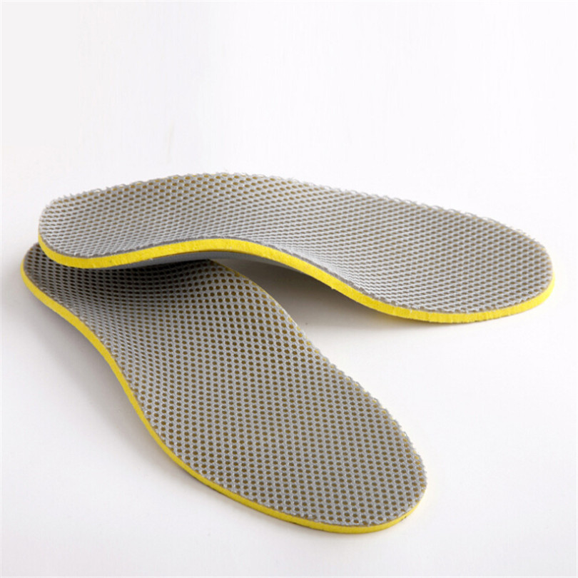 One Pair Liners Breathable Women Foam Adult Flat Foot Arch Support Peds Orthotics Comfortable Insoles Orthopedic Foot Care Q048