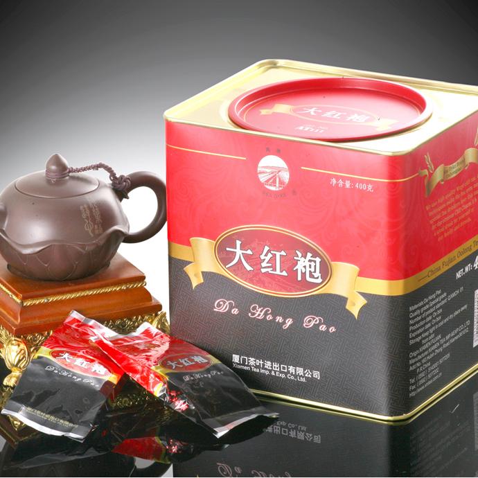 [GRANDNESS] AT111 Mellow flavor Top Grade Fujian Oolong Tea da hong pao big red robe Oolong,Original Wuyi Rock Oolong Tea 400g(China (Mainland))