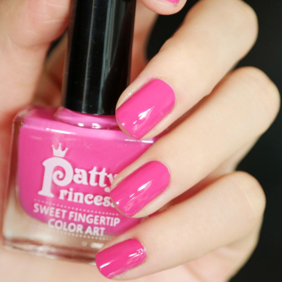Brand New Nontoxic Eco-friendly 12ml Nails Polish Rose Red Color Gel Nail Varnish(China (Mainland))