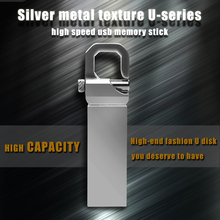 Real 32GB USB Flash Drive 16GB  Pen Drive memoria usb stick 8GB 4GB Pendrive Stainless Steel USB 2.0 Flash Drive Free shipping