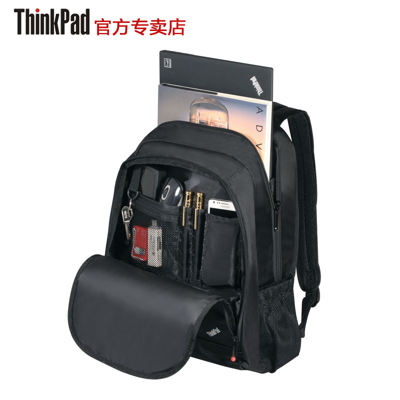 new sale 2014 original lenovo thinkpad laptop shoulder bag backpack schoolbag male high business and leisure travel 0a33917(China (Mainland))
