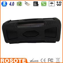 Free Shipping 2015 Waterproof 10W Super Bass Portable HI-FI with microphone mini hifi new Bluetooth 4.0 speaker