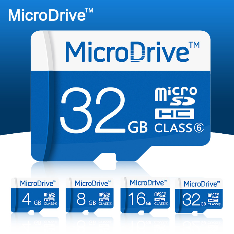 Microdrive Memory Card 4GB/8GB/16GB/32GB C6 Micro SD Card with white box supports to Android Smartphone/Tablet(China (Mainland))