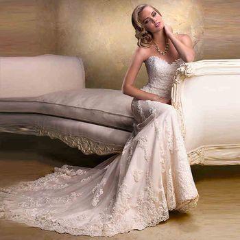 Свадебные платья Novia горячая распродажа сексуальная одеяние де свадебная тюль с аппликацией бисероплетение съемными бретелями длинные свадебные платья 2015 вл 3050