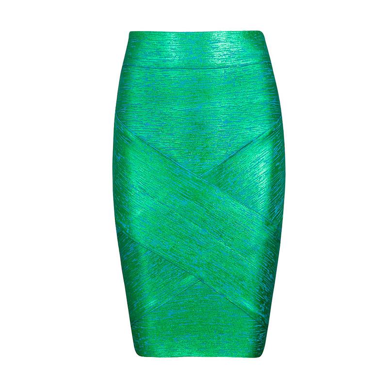 foiled print bandage material skirts, classic brand sexy pencil skirts women black/red/ green/ gold print skirt bandage skirt(China (Mainland))