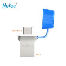 Netac Original U710C USB 3.1 Type C USB Flash Drive 64GB USB 3.0 OTG Pen Drive Mini USB Stick Flash Disk Memory Stick U Disk(China (Mainland))