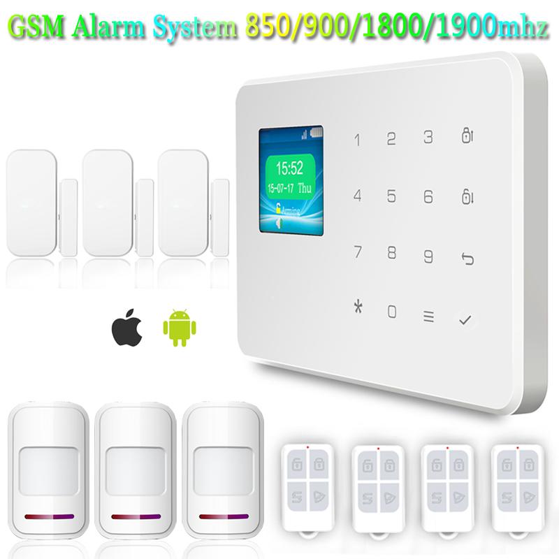 KERUI High Quality  Wireless Audible and Visual Siren Infrared Sensor Alarm Security Home Door System +Door sensor<br><br>Aliexpress