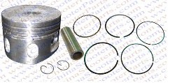 Performance 52.4MM 13MM Piston Rings Kit 110cc Lifan ZongShen Kaya Xmotos Apollo orion Loncin kids dirt bikes Parts With extra(China (Mainland))