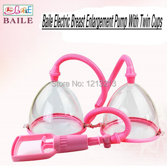 HOT!! BAILE Breast Massage Enlarger Pump Exerciser Developing Electric Breasts Enlargement,Women Sex Medical Toys, Adult Product<br><br>Aliexpress