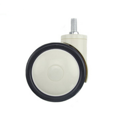 Здесь можно купить  2pcs freeshipping 4-inch American Medical Plastic Wheel Caster  screw wheel casters furniture round mute  Мебель