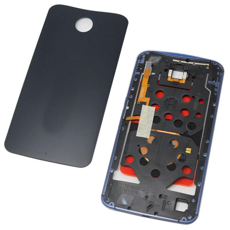 For Motorola Google Nexus 6 Battery Back Door Cover + Bezel Frame Housing OEM Mobile Phone Housings rear back cover(China (Mainland))