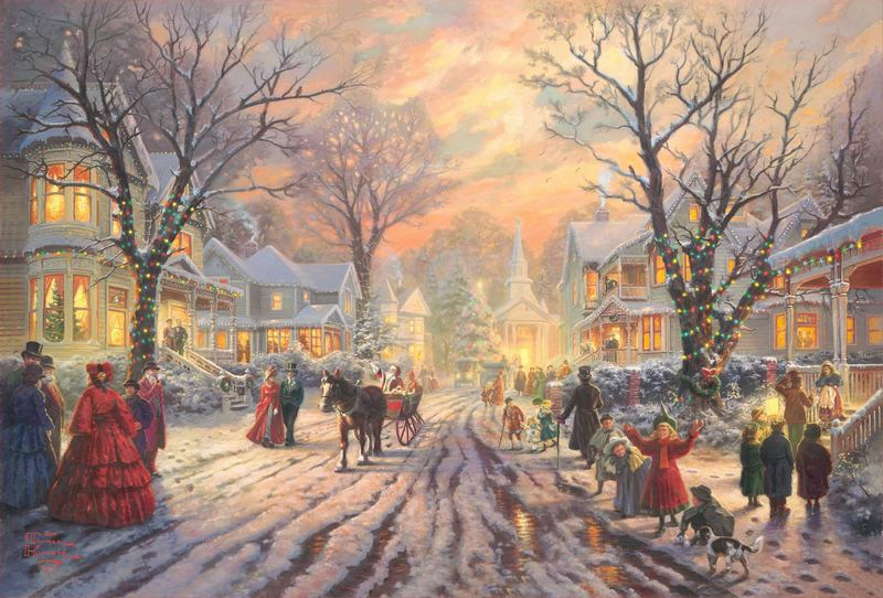Artwork Prints Thomas Kinkade Nascar Thunder Hall Decoration Painting Wall Mural Paintings Lovers Gift Cheap Art Canvas Larg(China (Mainland))