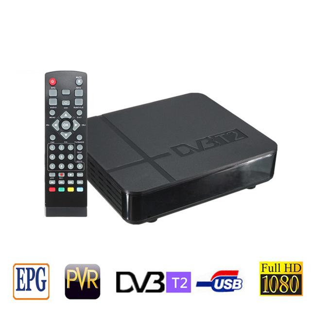 RUSSIA EUROPE THAILAND DVB T2 Tuner MPEG4 DVB-T2 HD Compatible With H.264 TV Receiver W/ RCA / HDMI PAL/NTSC Auto Conversion Box(China (Mainland))