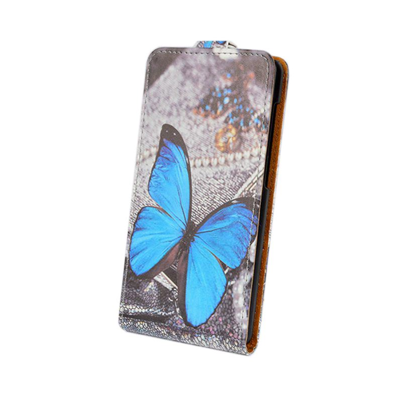 Printing Leather cover For Alcatel One Touch Pixi First OT 4024 4024D 4024X Case Flip Wallet Stand Phone Bag with Card holder(China (Mainland))