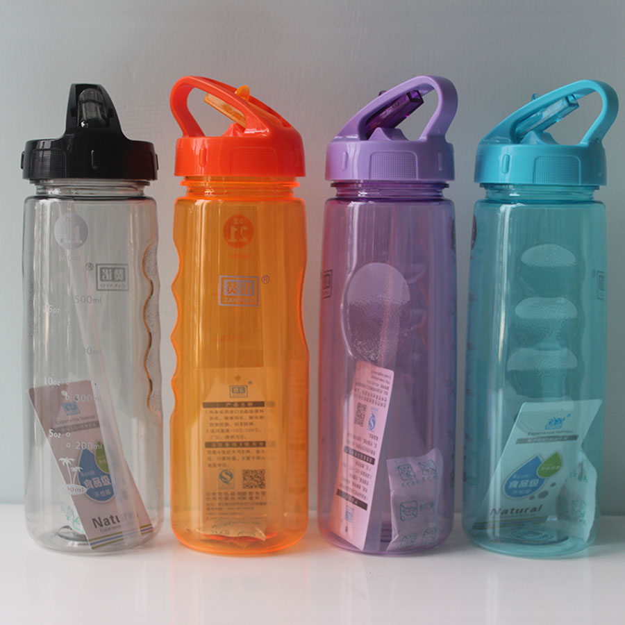 630ml my colorful personalized sports Straw bottle Adult sippy plastic leakproof water bottle sports water bottle(China (Mainland))