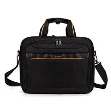 Free Shipping Business Vintage Men Briefcase Large Capacity Laptop Bag Tote Bag Black Coffee Men Travel Bag Shoulder Bag 366(China (Mainland))