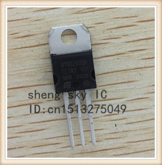 FREE SHIPPING 20PCS BTB12-600 BTB12-600B BTB12-600C BTB12 TO-220 12A 600V Transistor