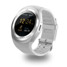 Aaliyah Y1 Smart Watchs Round Support Nano SIM &TF Card With Whatsapp And Facebook Men Women Business Smartwatch For IOS Android(China (Mainland))