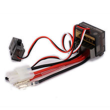 Buy Bidirectional 320A 7.2V 20T Brushed Electrical Speed Controller ESC Heat Sink 1/10 RC Car Boat HSP Wltoys Tamiya N10040 for $12.26 in AliExpress store