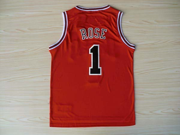 """""""Rose"""", derrick Martell rose #1 shirt, high quality cheap wear embroidery Bulls team rose #1 basketball jerseys, free delivery(China (Mainland))"""