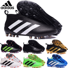 2016 new High Ankle original FoOTBaLls BoOTs FG AG Outdoor SoCCeRs Ace 16 Purecontrols shoes eur 39-45 gu76(China (Mainland))