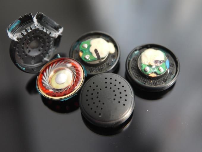 DIY PK1 earphone Yuin 150ohm red film pk1