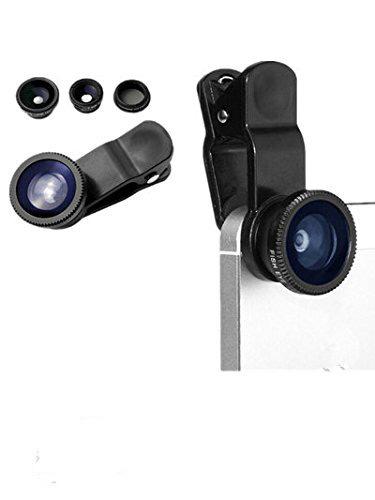 telefono movil negro universal 3 en la camara kit con objetivo clase profesional 1 Clip