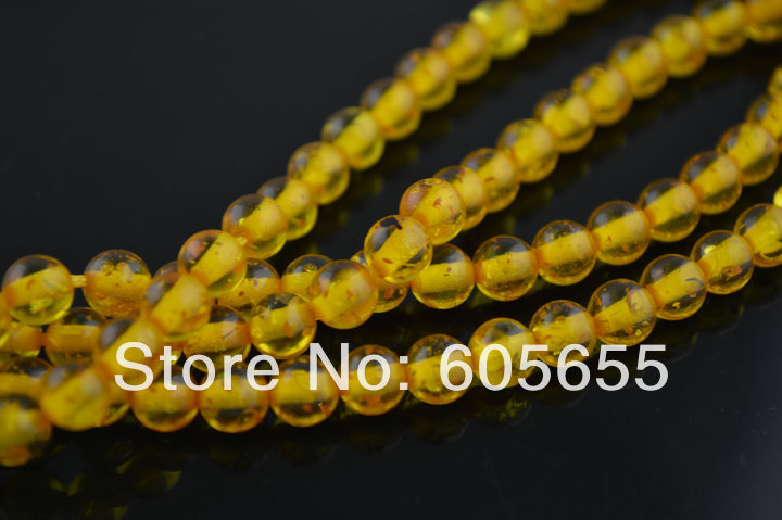 Synthetic Amber Round Beads 10mm Stone loose Beads for jewelry making(China (Mainland))