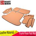 KUST Leather Car Loop Floor Mat For Hyundai For Tucson 2015 2016 SUV Protective Floor Mats