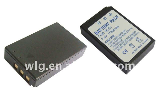 digital camera battery for olympus PS-BLS1
