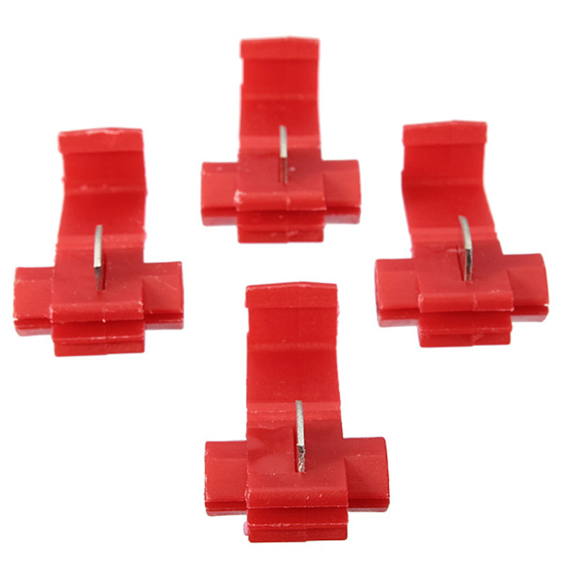 New 20pcs Red Scotch Lock Quick Splice 16-22awg Wire Connectors Terminals Crimp Electrical Excellent Quality<br><br>Aliexpress