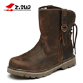 Genuine Leather Ankle Boots Genuine Leather Men Shoes New Autumn And Winter Boots British Army Boots