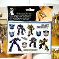 Hot Car Robots Child Temporary Tattoo Body Art Flash Tattoo Stickers 17 10cm Waterproof Henna Tatoo