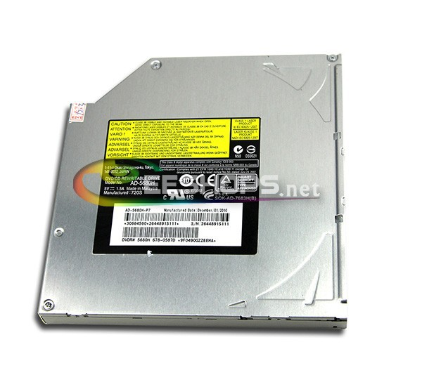 "for Apple iMac Intel 21.5"" Mid 2010 i3 i5 A1311 SuperDrive Double Layer 8X DVD RW RAM DL Burner 24X CD-R Writer Optical Drive(Hong Kong)"