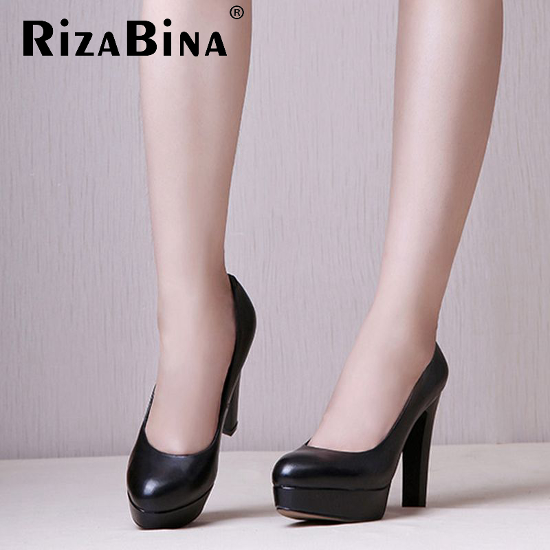 women real genuine leather high heels shoes brand sexy platform heel lady pumps fashion heeled footwear shoes size 34-39 R08347<br><br>Aliexpress